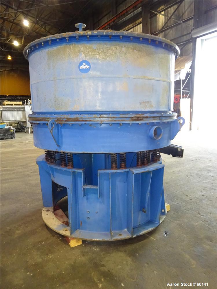 Used- Stainless Steel Sweco Vibro Energy Dry Grinding Mill, Model DM70-RC