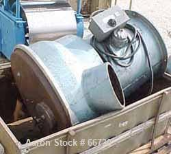 "Used- Sweco Vibro Energy Grinding Mill, Carbon Steel, 30"" Diameter. Approximately 3 cubic foot chamber capacity. 6"" Top char..."