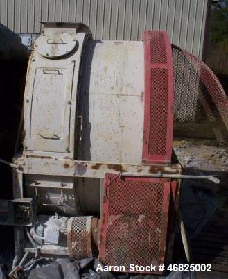 Used- Continental Rollo-Mixer, Model 62-50. Carbon Steel construction, Nominal Capacity of 2 tons for product density of 90 ...