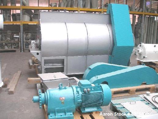 Used- Bühler DFMF 2000 Batch-Mixer, Carbon Steel