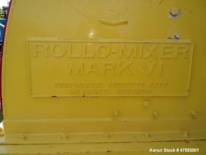 Used- Continental Model 62-50 Rollo-Mixer