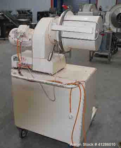 "Used-Lodige M20R Mixer/Granulator, stainless steel 316 on product contact parts.  Inside container dimension 11.4"" (290 mm) ..."