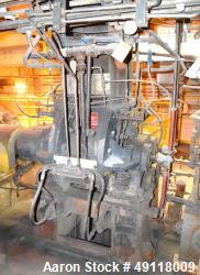 Used- Farrel Banbury Mixer, Model 1D. Approximate chamber gross volume 16.5 liters (4.3 gallons, 978 cubic inches), approxim...