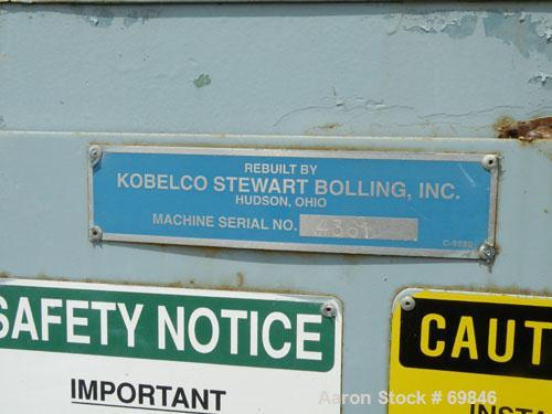 """Used- Carbon Steel Stewart Bolling Spiral Flow Banbury Style Mixer, Model """"00"""""""