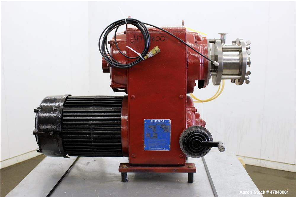 Used- Votator CR Continuous Whipper Emulsifier Mixer