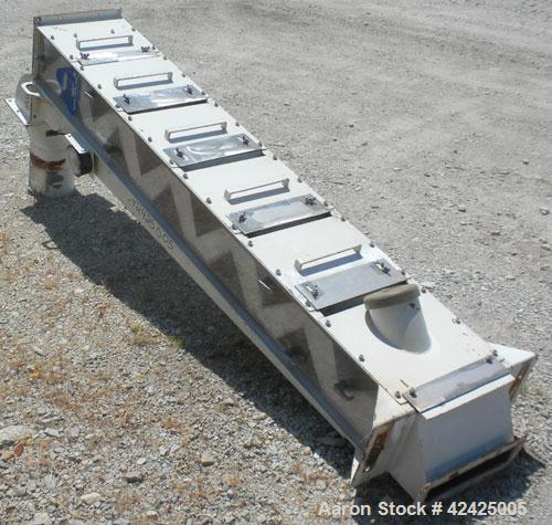 Used- Kice Multi-Aspirator, Model 6E12, Carbon Steel. Approximately 12'' wide with 5 slides. Top air outlet, top product inl...