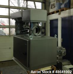 Unused Maschinen & Mühlenbau Benker Flexomix Vertical Continuous Mixer/Agglomerator, Type Flexomix 160. Stainless steel hous...