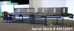 Used- S. Howes Model 9TS12-J Jacketed Cooling Conveyor, Stainless Steel.
