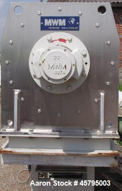 Used- MWM Continuous Mixer, Model 400 V-K.