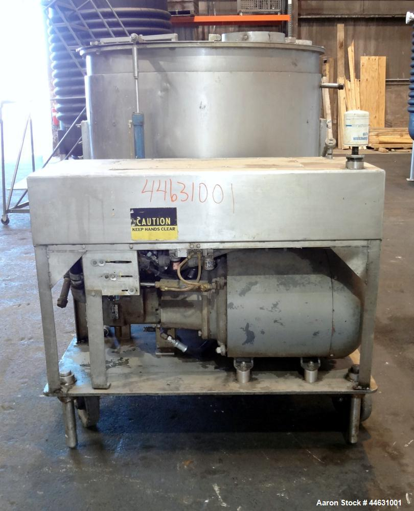 Used- Stainless Steel Oakes Hydraulic Continuous Slurry Mixer