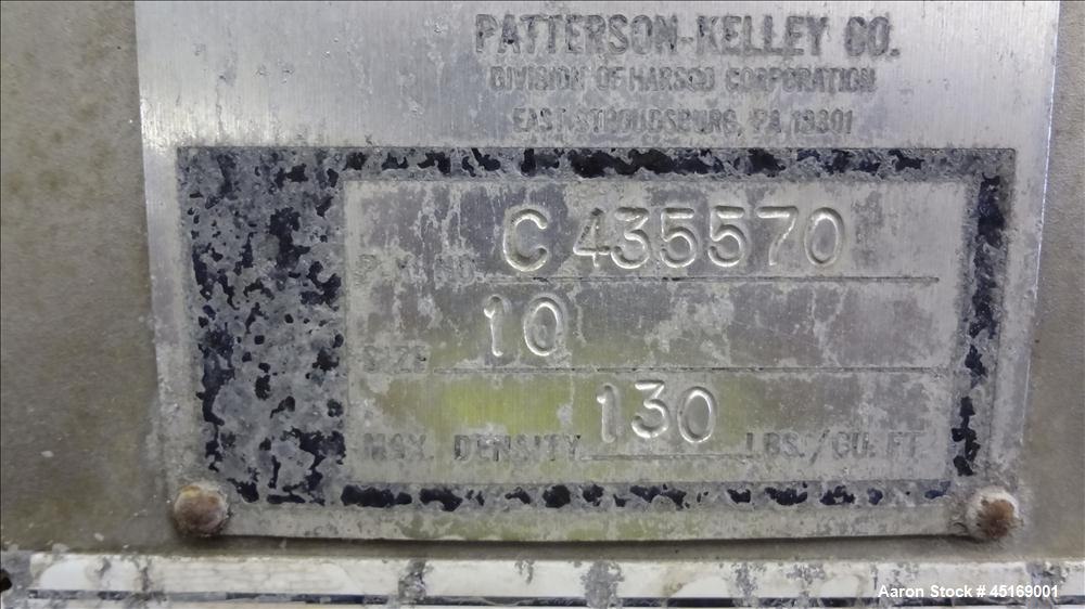 Used- Patterson-Kelley Zig Zag Mixer, Model C435570