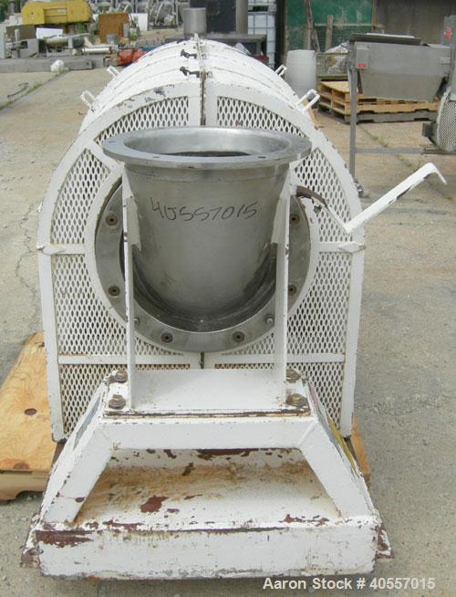 Used- Stainless Steel Patterson Kelley Continuous Zig-Zag Blender, model 12""
