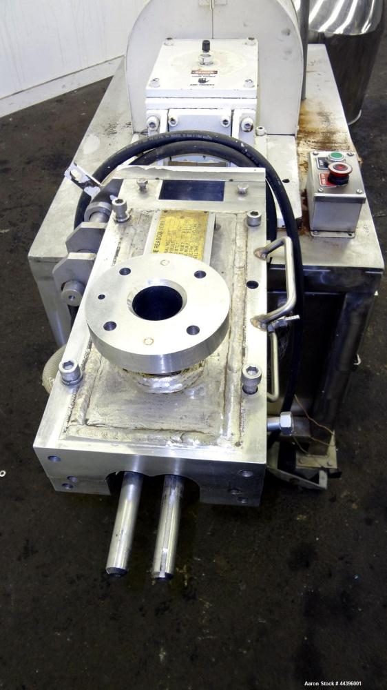 "Used- Teledyne Readco 2"" Twin Shaft Continuous Processor"