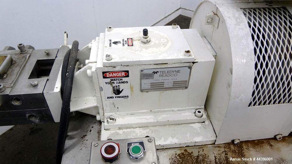 """Used- Teledyne Readco 2"""" Twin Shaft Continuous Processor"""