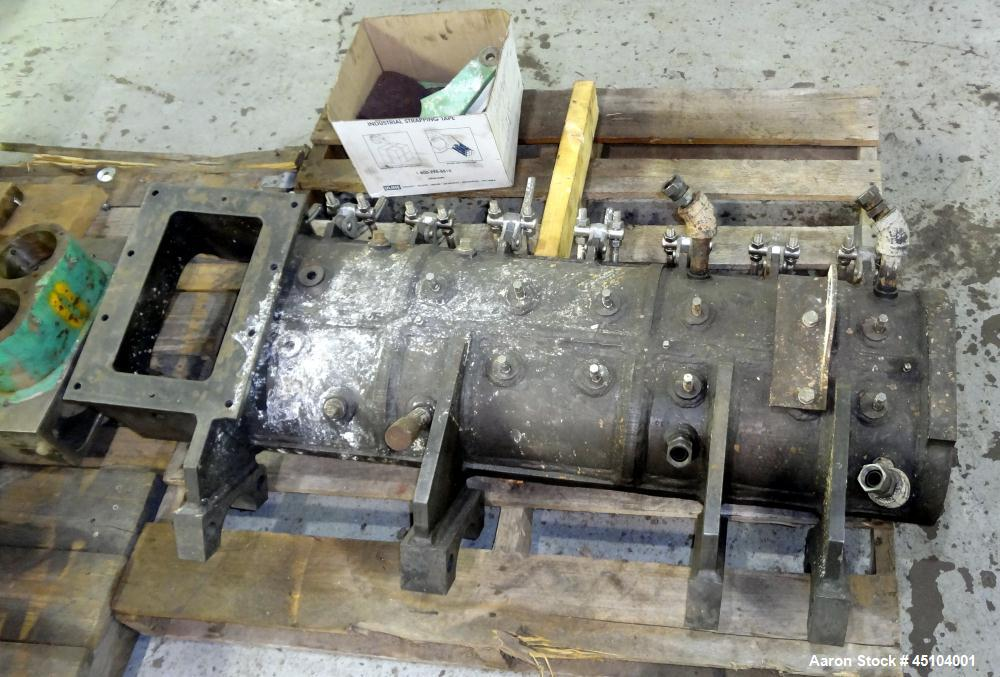"""Used- Stainless Steel Teledyne Readco 6"""" Twin Shaft Continuous Processor"""