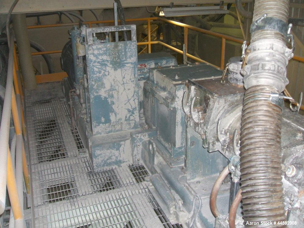 """Used- Teledyne Readco 10"""" Co-Rotating Twin Screw Continuous Processor"""