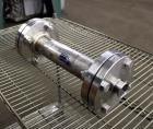 Used- Koch-Glitsch Static Mixer, Type SMX, Stainless Steel. (4) Mixing elements, approximate 2-1/2