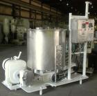 Used- Oakes Slurry Mixer, Model 40'' SM, 304 Stainless Steel. 200 Gallon (1,000 pound) capacity non-jacketed tank, 40