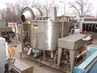 USED: Oakes continuous slurry mixer, model 60SMVJ40H, stainless steel. 440 gallon jacketed tank, 60
