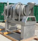 Used- Stainless Steel Patterson Kelley Continuous Solids-Solids Zig-Zag Blender, model CSS