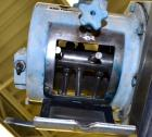 Used- Teledyne Readco Batch Type Pin Mixer, Model TR8-8, 316 Stainless Steel. 8