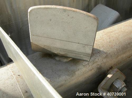 Used- Young Industries Multi-Shaft Continuous Mixer, model 12INX72IN