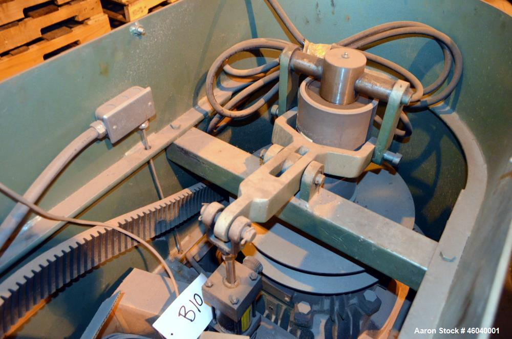 Used-Schold High Shear Vertical Mixer, S/N 751594, 100 HP, 150 lbs. Max. Pressure, Speed 355 - 980, Pneumatic Elevation.  In...