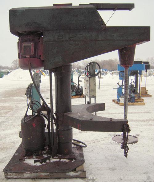 Used- Bowers High Speed Disperser, Model 40VSM-18
