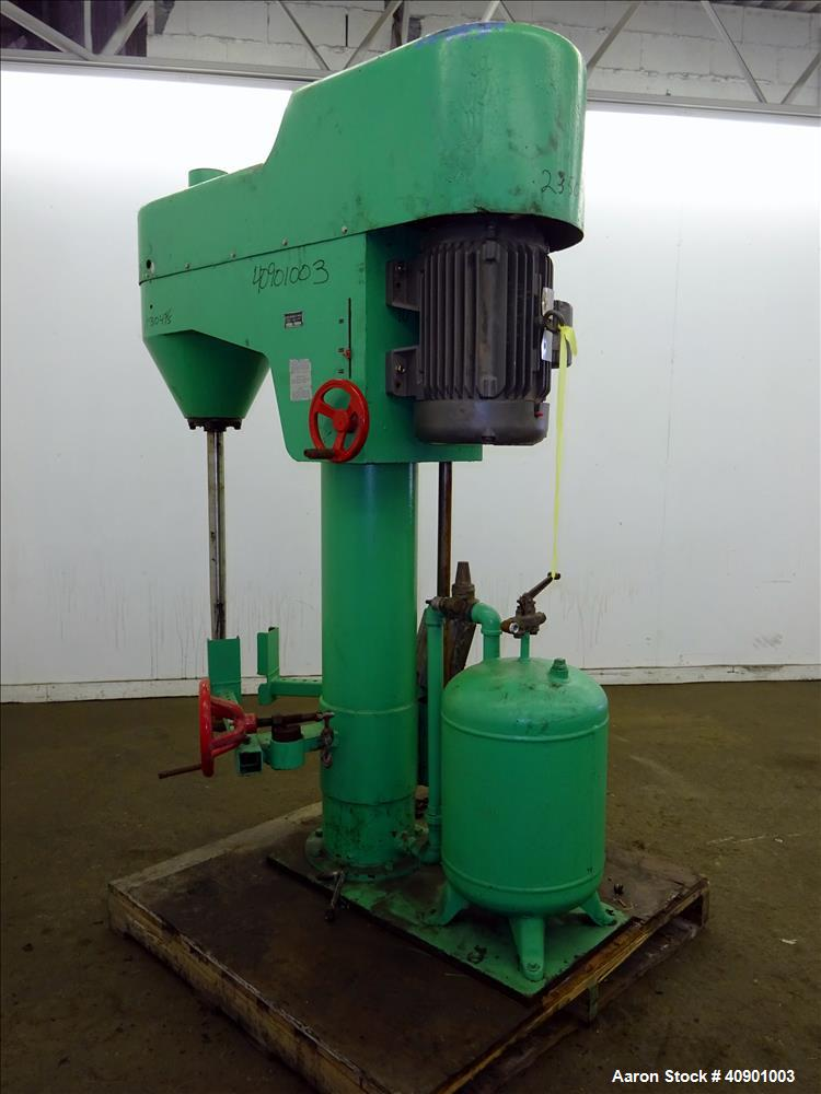 Used- Bowers High Speed Disperser, Model 720A