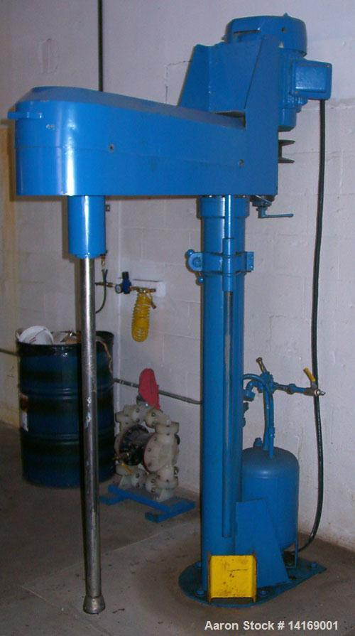 Used-Cowles Disperser, Model 520 WHV. 20 HP, 230/460 V motor. Air over oil lift. Mechanical variable speed.