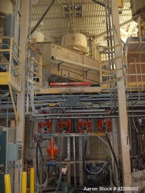Used- Carbon Steel Hockmeyer Dual Shaft Disperser Mixing System, model HCS-II-1800