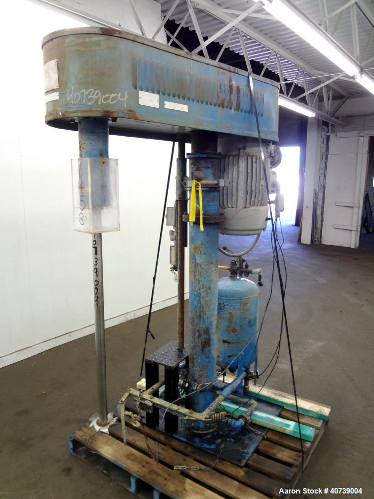 Used- Hockmeyer Disperser, model HV15