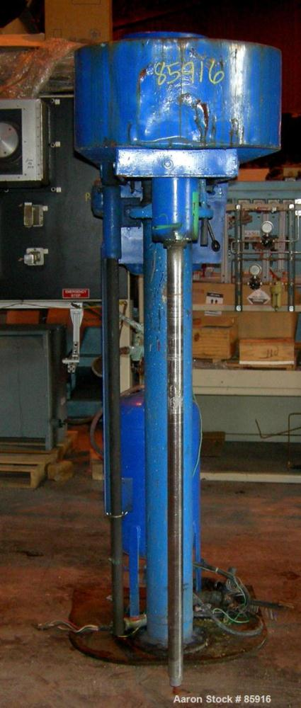 "Used- Hockmeyer Disperser, Model HV15. 1-3/4"" diameter x 50"" long 304 stainless steel shaft, no blade. Will center in an app..."
