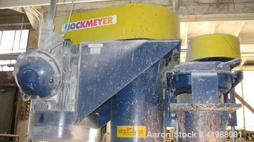 Used-Hockmeyer Dual Shaft Disperser. 200 hp XP, 2400 gallon stainless steel non-jacketed mixing tank. Manufactured 2003.