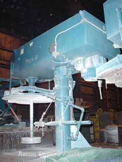 "Used- Hockmeyer Single Shaft Disperser, Model HHL-II-550. 3"" diameter shaft with an 18"" diameter sawtooth blade. Driven by a..."
