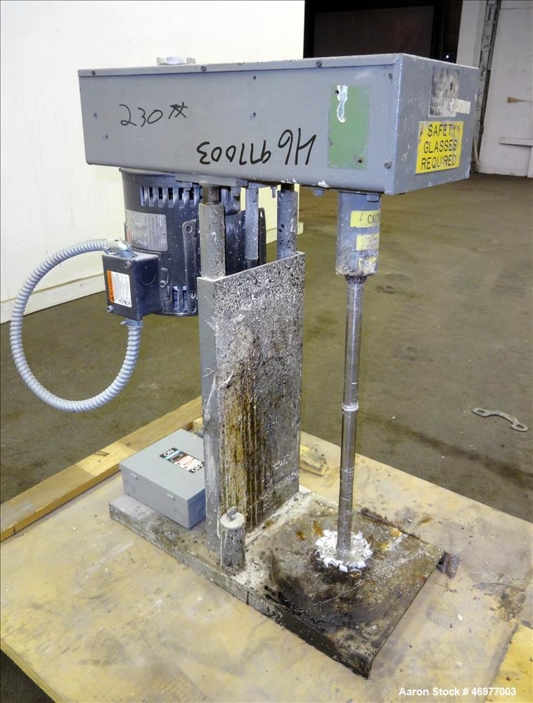 Used- Indco Benchtop Lab Disperser, Model HS-1208.