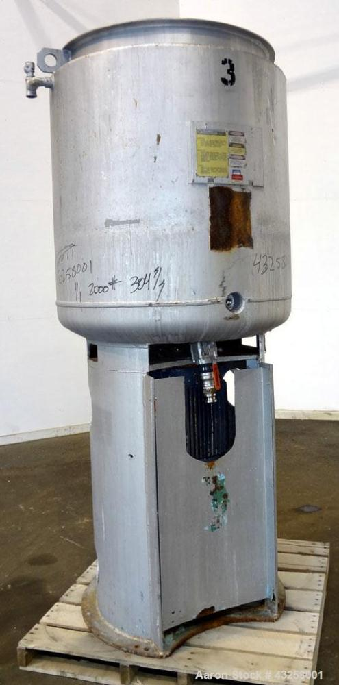 Used- Stainless Steel J H Day Daymax Mixer, Model 200