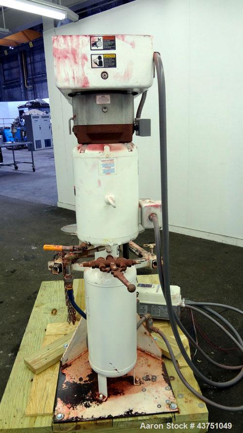 "Used- Jaygo Variable High Speed High Shear Disperser, Model HS-7510. (1) 2"" Diameter stainless steel shaft with an 8"" diamet..."