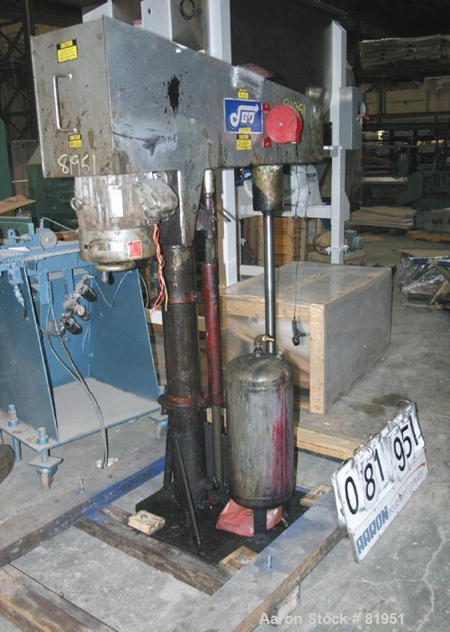 Used- Jaygo Variable High Speed Disperser, Model HS7510