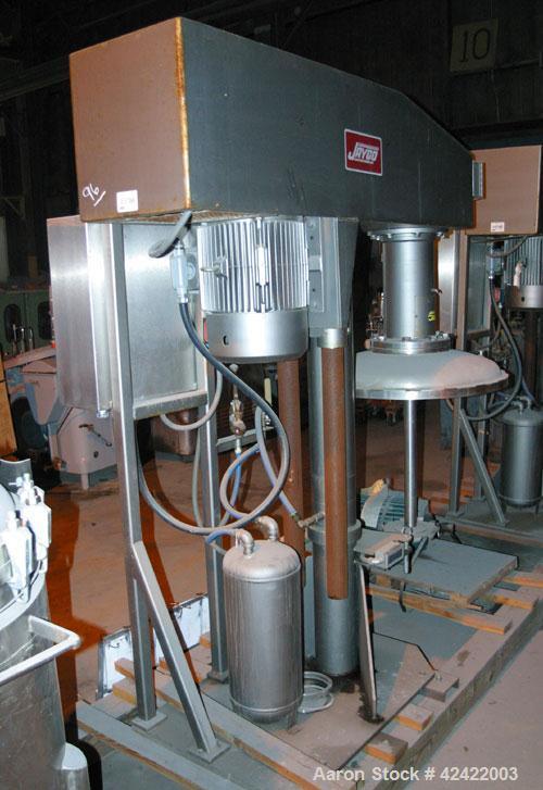 "Used-Jaygo Disperser, Model Special HS 1530. 15 hp, 230/460 volt, 1760 rpm vari-speed motor, 1000-2000 rpm, 2"" diameter x 32..."