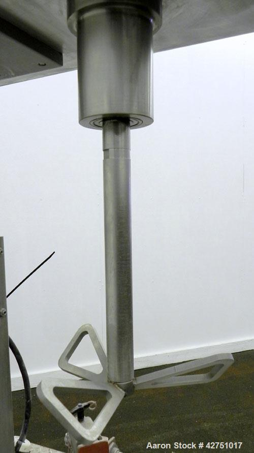 "Used- Keith Machinery Disperser Mixer. Approximate 5 gallon batch size, 14"" rise. 1-1/2"" Diameter X 14-3/4"" long 304 stainle..."