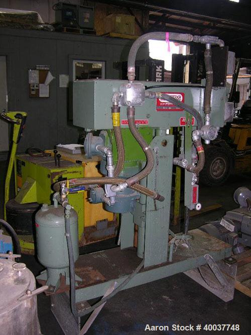 "Used- Myers Disperser, Model L775-3, stainless steel shaft and blade, 28"" long shaft, 3"" diameter blade, 3 HP 230/460 Volt X..."