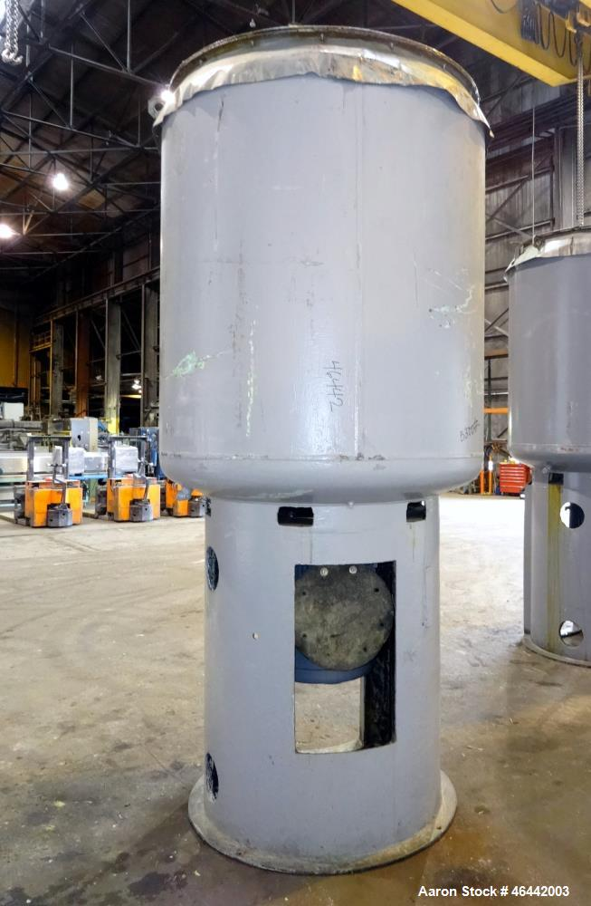 Used- J.H. Day Daymax Disperser, 550 Gallon Working Capacity (660 Total), 304 Stainless Steel. Carbon steel vertical jackete...