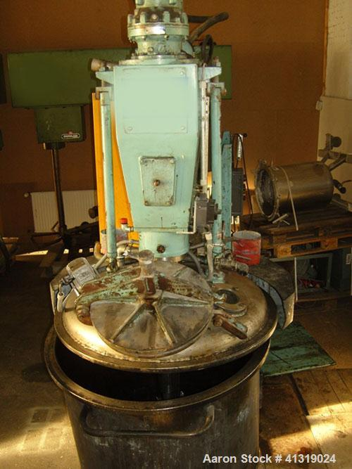 Used-Mastermix Dispersing Mixer with Dissolver