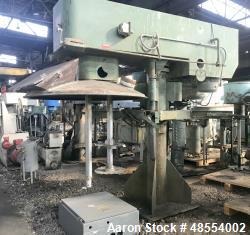 Used- Myers Dual Shaft Disperser, Model 550A-30-60, Carbon Steel.