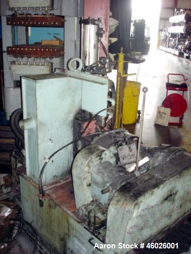 Used- Moriyama Kneader Mill, Batch Mixer/Compounder, Model D3-7.5. 3 Liter mixing capacity, speeds front approximately 25 to...