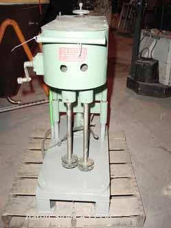 Used- Stainless Steel Myers Dual Shaft High Speed Disperser, Model L850