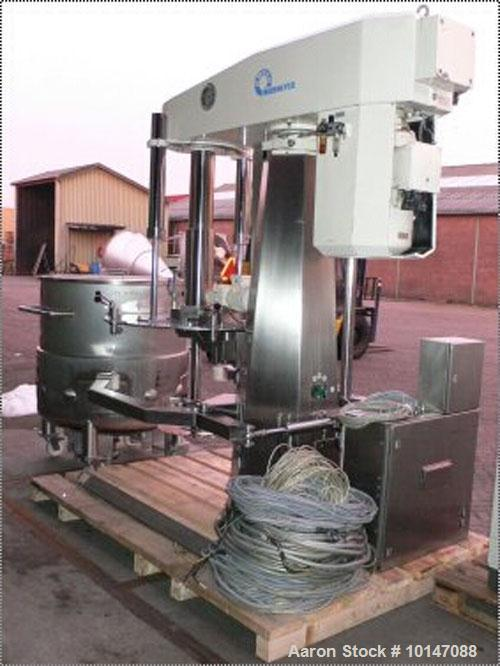 "Used-Niemann ""Pharma Dissolver"", Type KDV 491-61 FU.Material of construction is stainless steel.Length of shaft 5'9"" (1800 m..."
