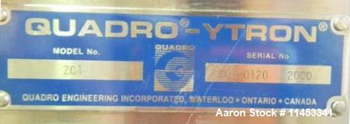 Used- Quadro Ytron Mixer, Stainless Steel, Model ZC1