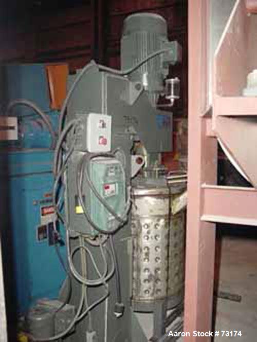 Used: Reynolds low speed mixer, pedestal mount